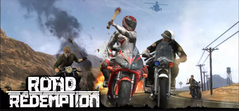 Road Redemption with logo