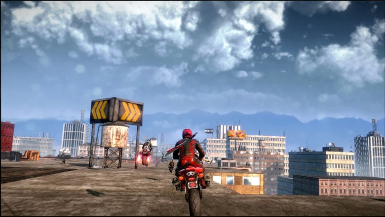 Road redemption gameplay