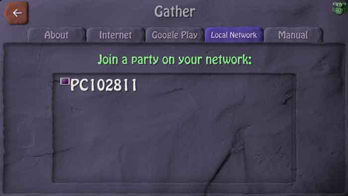 hosting offline game in bombsquad using local network