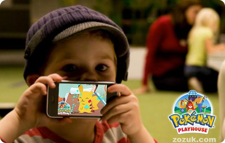 Pokémon Playhouse – A new Pokémon Game for Preschoolers