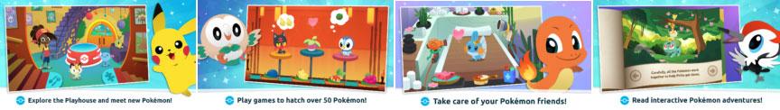 how to play Pokemon Playhouse