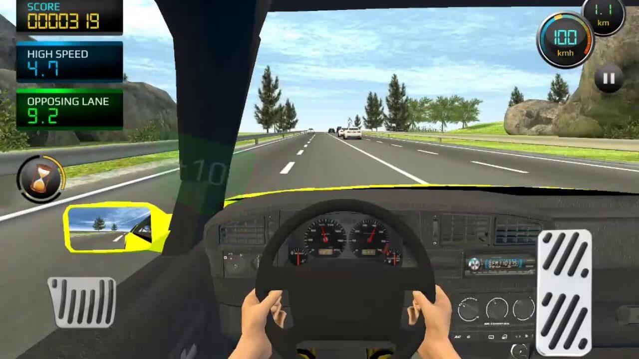 Racing in City (Car Driving) - Steering Game