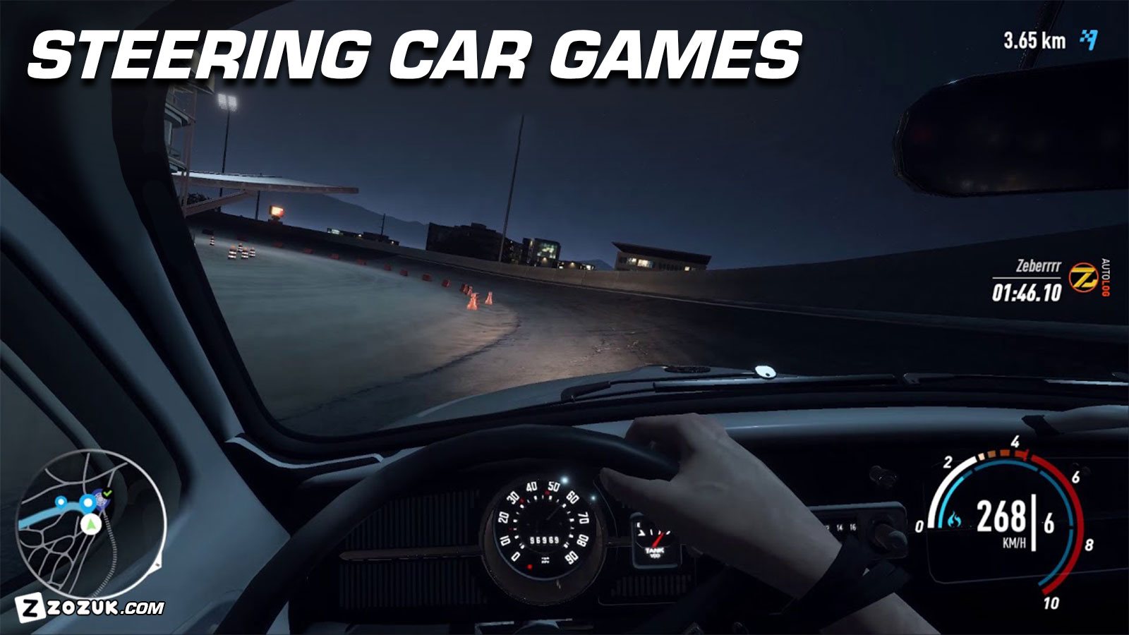 5 Most Amazing Steering Car Games