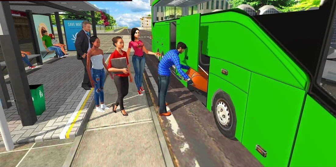 Bus Driving Simulator 2018